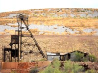Head frame, Tiger mine